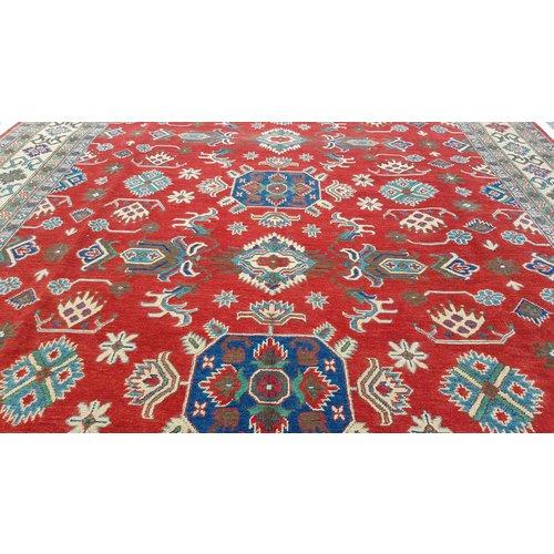 Handgeknüpft wolle kazak teppich  366x278 cm   Orientalisch teppichboden
