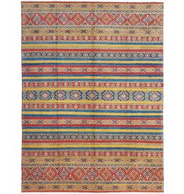 ZARGAR RUGS shal Hand knotted  11'9x 9' wool kazak area rug  364x276 cm  Oriental carpet