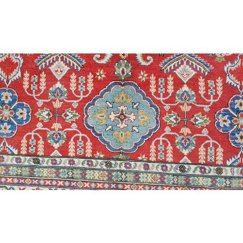 Handgeknüpft wolle kazak teppich  359x266 cm   Orientalisch teppichboden