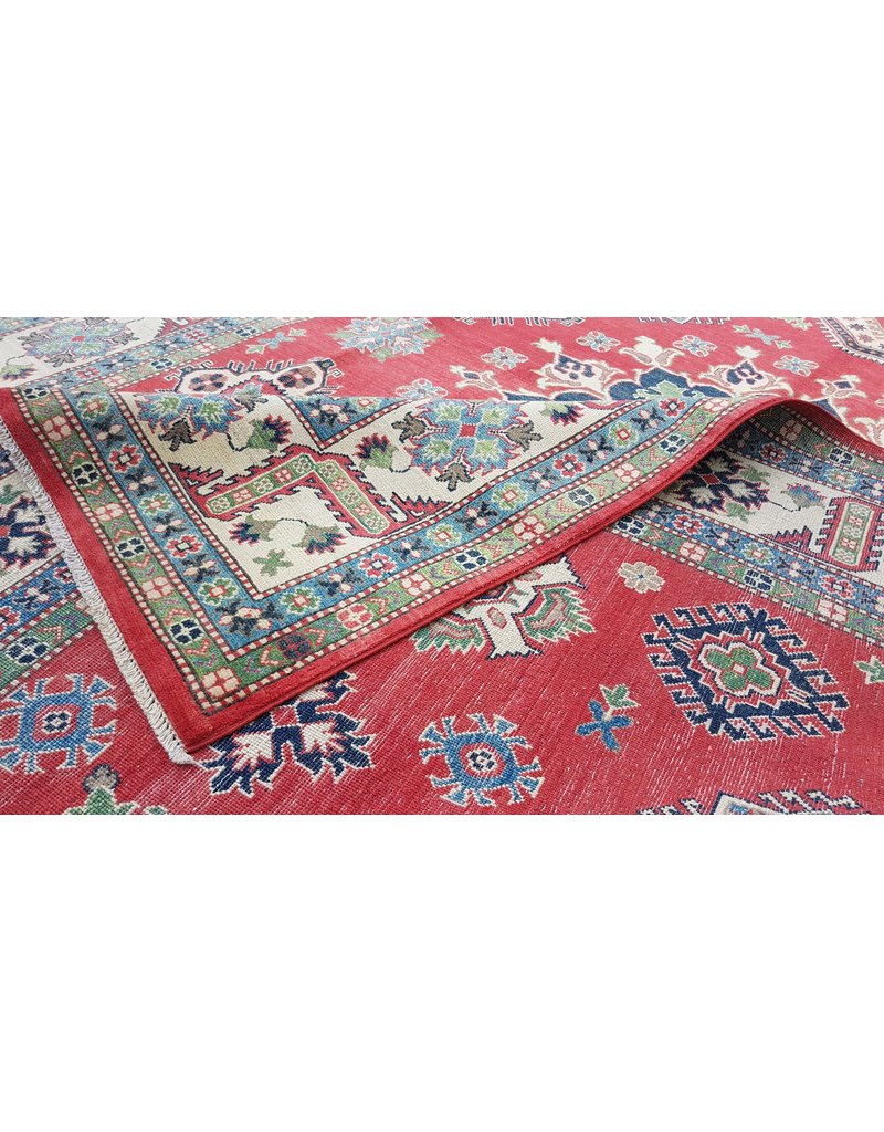 ZARGAR RUGS  Handgeknoopt kazak tapijt 376x278 cm  oosters kleed vloerkleed
