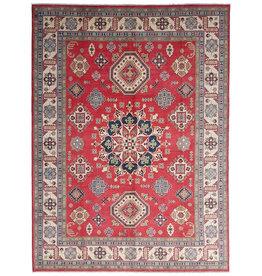 ZARGAR RUGS Handgeknüpft wolle kazak teppich  376x278 cm   Orientalisch teppichboden