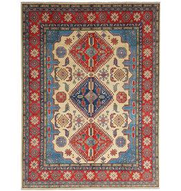 ZARGAR RUGS shal Hand knotted  11'8x 9' wool kazak area rug  360x278 cm  Oriental carpet