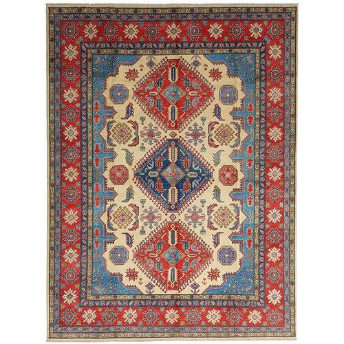 Handgeknüpft wolle kazak teppich  360x278 cm   Orientalisch teppichboden