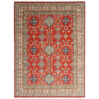 shal Hand knotted  11'8x 8'9 wool kazak area rug  362x274 cm  Oriental carpet