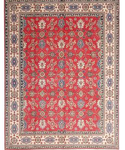 Handgeknoopt kazak tapijt 362x282 cm  oosters kleed vloerkleed
