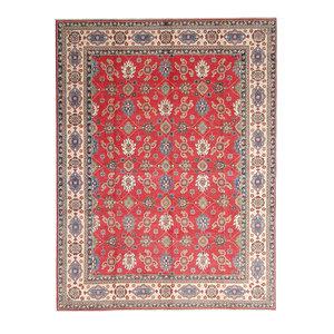 Handgeknüpft wolle kazak teppich  362x282 cm   Orientalisch teppichboden
