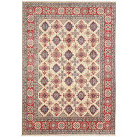 shal Hand knotted  11'8x 8'6 wool kazak area rug  361x263 cm  Oriental carpet