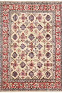Handgeknoopt kazak tapijt 361x263 cm  oosters kleed vloerkleed