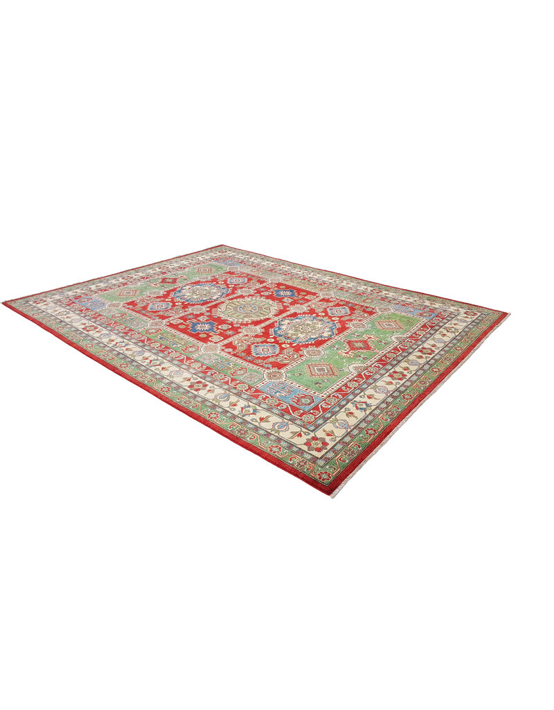 ZARGAR RUGS Handgeknüpft wolle kazak teppich  363x281  cm   Orientalisch teppichboden