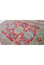ZARGAR RUGS  Handgeknoopt kazak tapijt 363x281 cm  oosters kleed vloerkleed