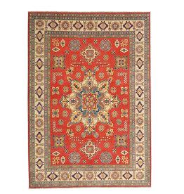 ZARGAR RUGS shal Hand knotted  11'4x 9' wool kazak area rug  349x279 cm  Oriental carpet
