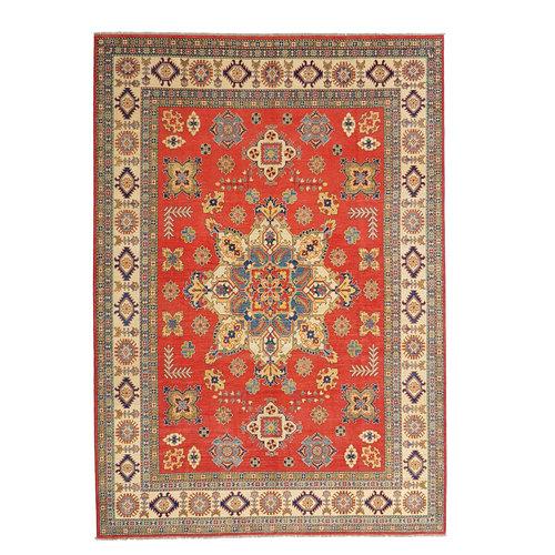 Handgeknüpft wolle kazak teppich  349x279 cm   Orientalisch teppichboden