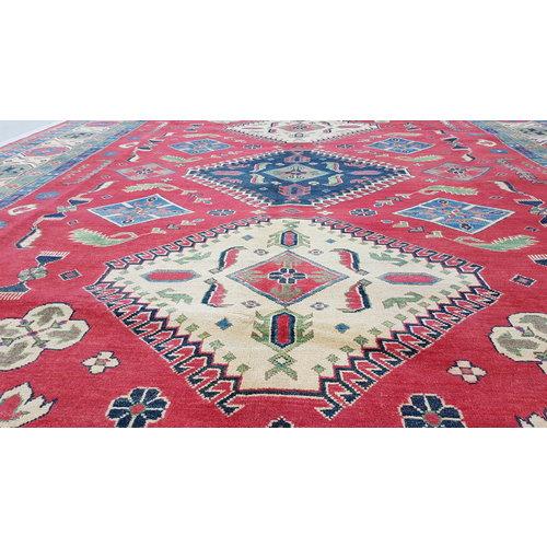 Handgeknüpft wolle kazak teppich  354x277 cm   Orientalisch teppichboden