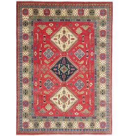 ZARGAR RUGS Hand knotted  11'6x 9' wool kazak area rug  354x277 cm  Oriental carpet