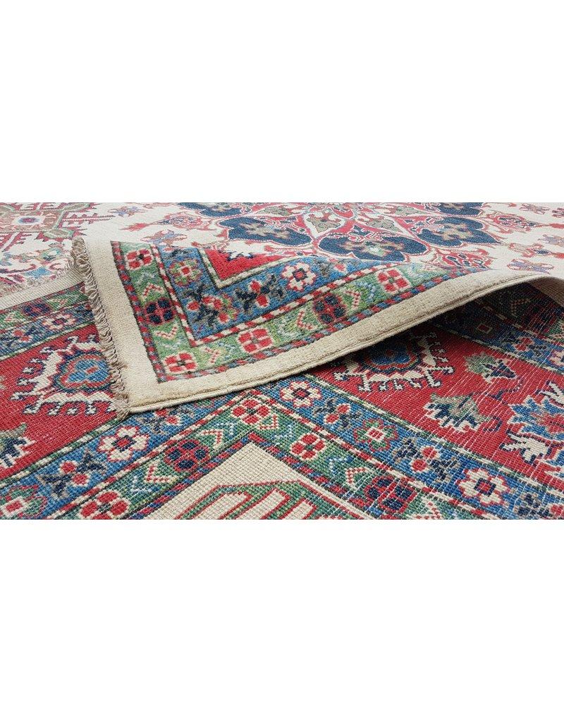ZARGAR RUGS Handgeknüpft wolle kazak teppich  357x279 cm   Orientalisch teppichboden