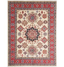 ZARGAR RUGS Hand knotted  11'7x 9' wool kazak area rug  357x279 cm  Oriental carpet