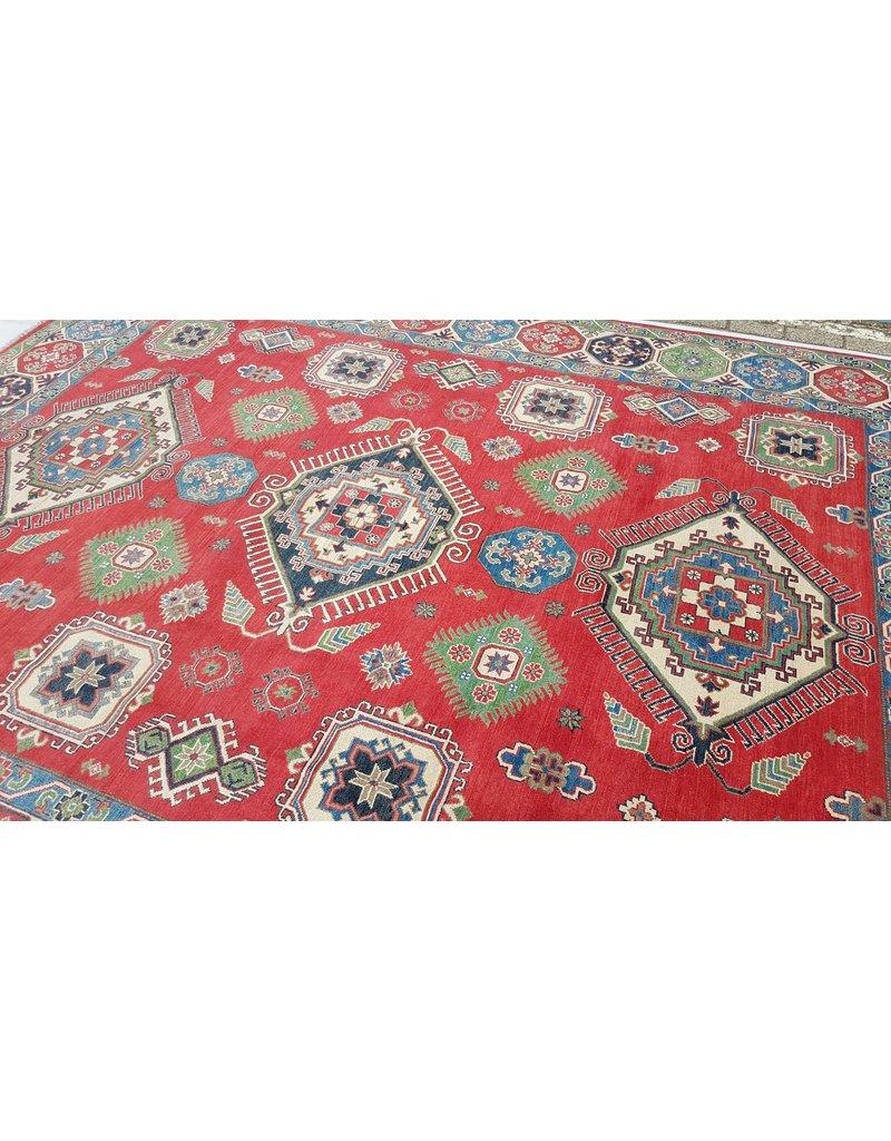 ZARGAR RUGS Handgeknüpft wolle kazak teppich  353x281  cm   Orientalisch teppichboden