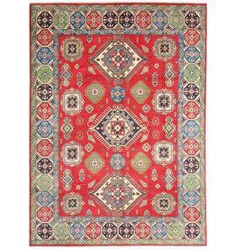 ZARGAR RUGS Hand knotted  11'5x 9' wool kazak area rug  353x281  cm  Oriental carpet