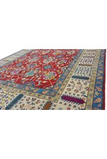 ZARGAR RUGS Handgeknüpft wolle kazak teppich  365x283 cm   Orientalisch teppichboden