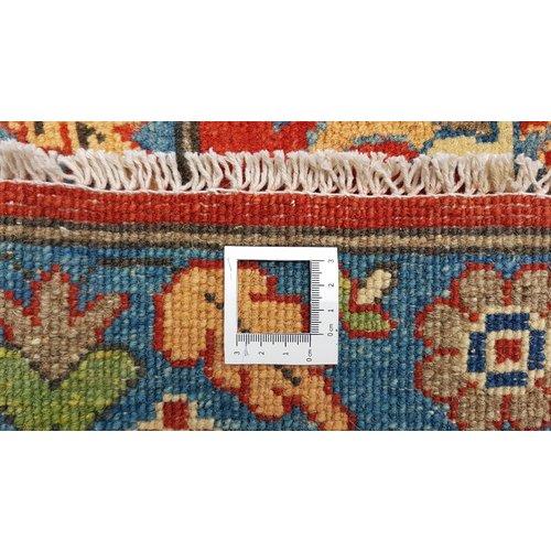 Handgeknüpft wolle kazak teppich  365x283 cm   Orientalisch teppichboden