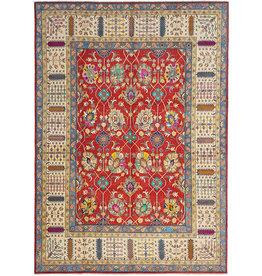 ZARGAR RUGS shal Hand knotted  11'9x 9' wool kazak area rug  365x283 cm  Oriental carpet
