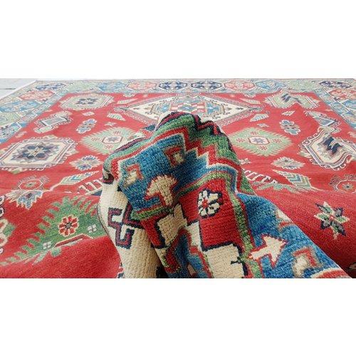 Handgeknoopt kazak tapijt 360x276 cm  oosters kleed vloerkleed
