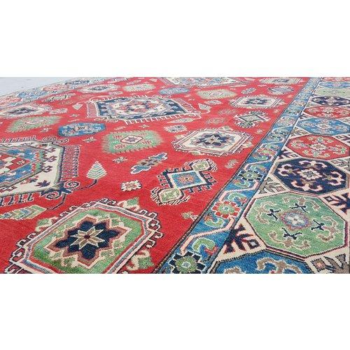 Handgeknüpft wolle kazak teppich  360x276 cm   Orientalisch teppichboden