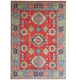 ZARGAR RUGS shal Hand knotted  11'8x 9' wool kazak area rug  360x276 cm  Oriental carpet