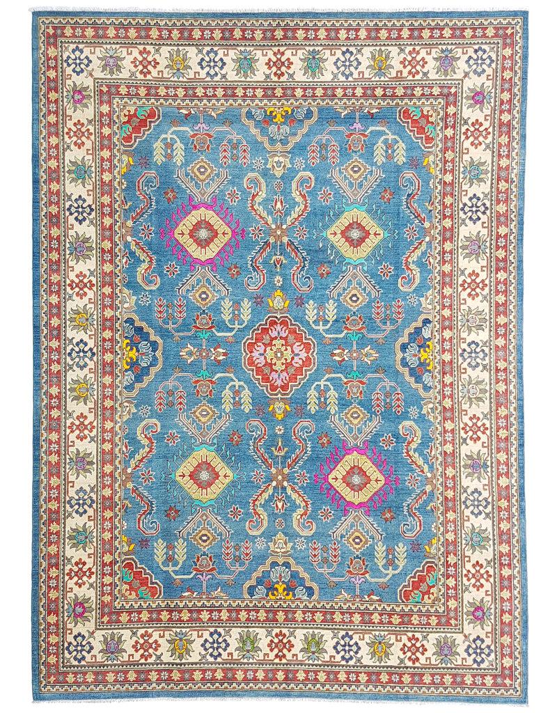 ZARGAR RUGS shal Hand knotted  11'9x 9' wool kazak area rug  365x282 cm  Oriental carpet