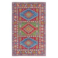 Handgeknoopt kazak tapijt 267x175 cm oosters kleed vloerkleed