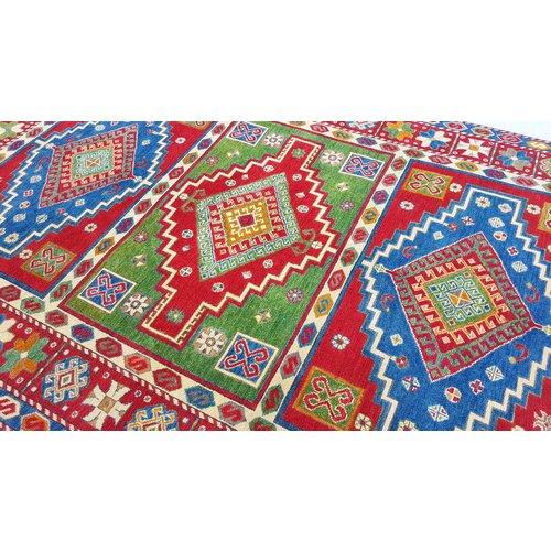 Handgeknüpft wolle kazak teppich  267x175 cm Orientalisch  teppich