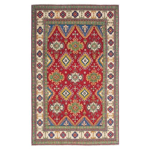 Handgeknüpft wolle kazak teppich  298x197 cm    Orientalisch  teppich