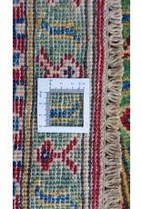 ZARGAR RUGS Hand knotted  9'7x6' wool kazak area rug   298x197 cm   Oriental carpet