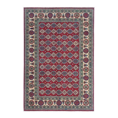 Handgeknüpft wolle kazak teppich  286x200  cm   Orientalisch teppichboden