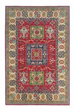 ZARGAR RUGS Handgeknüpft wolle kazak teppich  274x185 cm Orientalisch  teppich