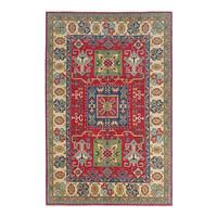Handgeknüpft wolle kazak teppich  274x185 cm Orientalisch  teppich