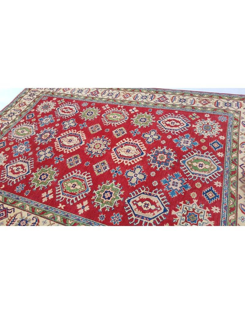 ZARGAR RUGS Handgeknüpft wolle kazak teppich 290x200 cm   Orientalisch  teppich
