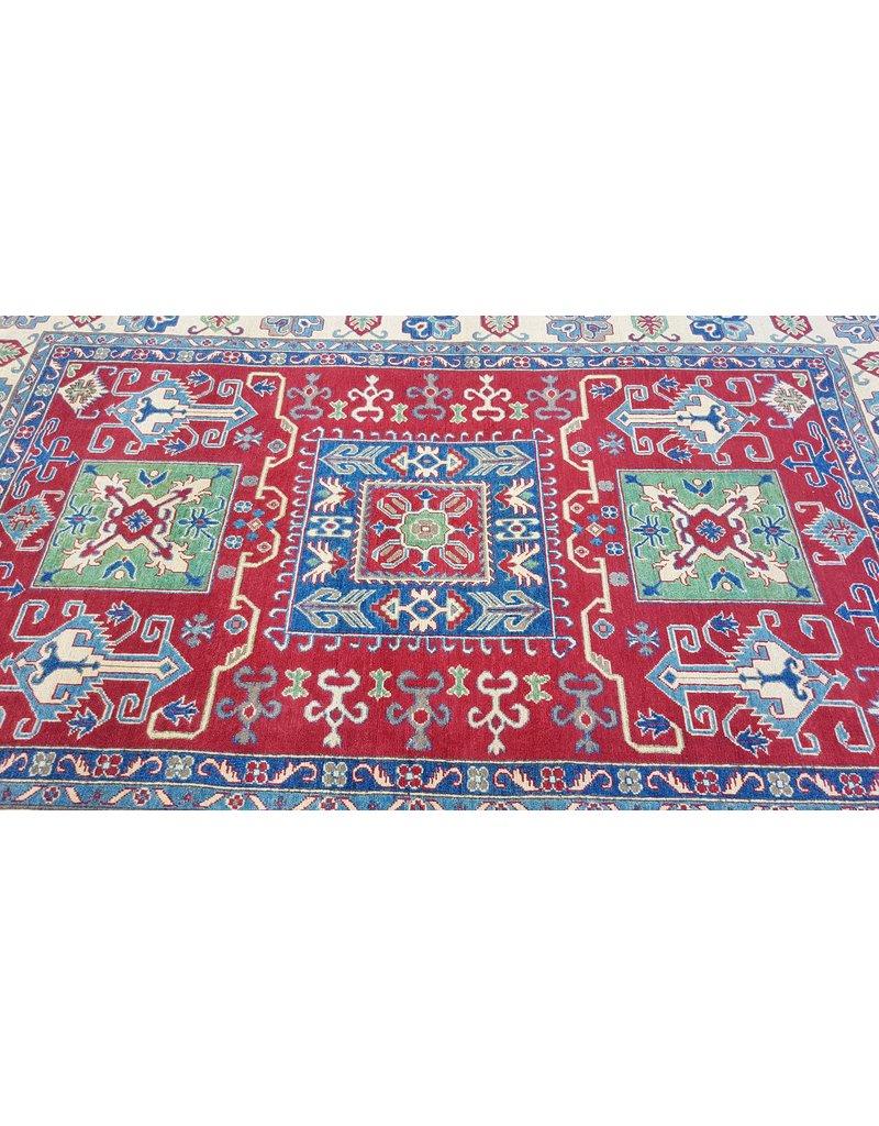 ZARGAR RUGS Handgeknüpft wolle kazak teppich  297x198  cm   Orientalisch teppichboden