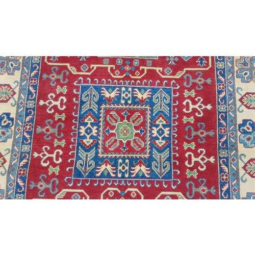 Handgeknoopt kazak tapijt 297x198 cm  oosters kleed vloerkleed
