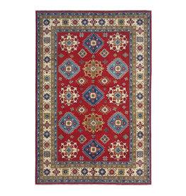 ZARGAR RUGS Hand knotted  9'5 x 6'5 wool kazak area rug  290x200 cm   Oriental carpet