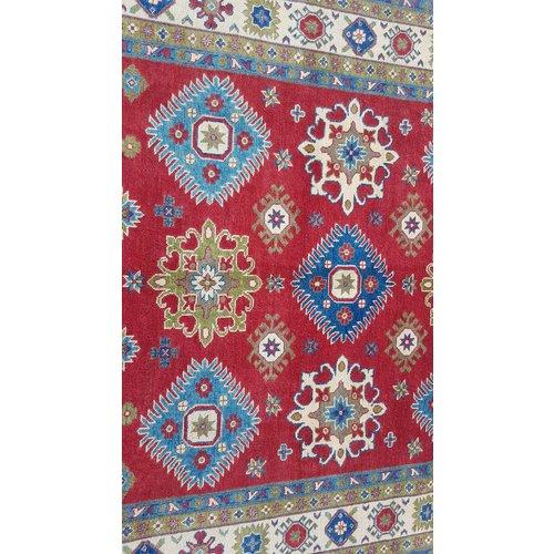 Handgeknoopt kazak tapijt 290x200 cm  oosters kleed vloerkleed