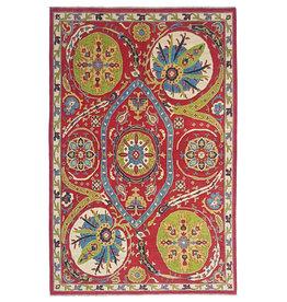 ZARGAR RUGS Handgeknoopt kazak tapijt 296x200 cm  oosters kleed vloerkleed