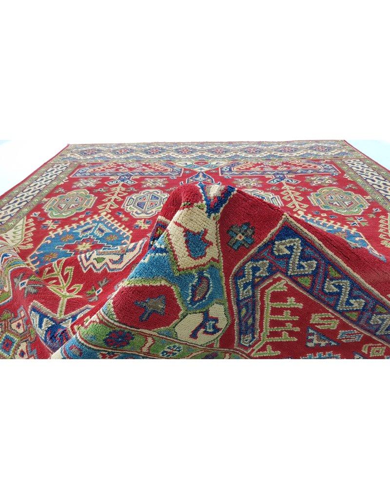 ZARGAR RUGS Handgeknüpft wolle kazak teppich 298x200 cm   Orientalisch  teppich