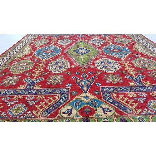 Handgeknoopt kazak tapijt 298x200 cm  oosters kleed vloerkleed