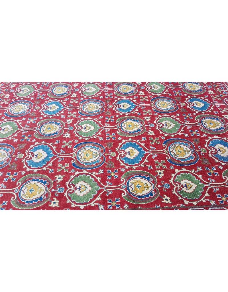 ZARGAR RUGS  Handgeknoopt kazak tapijt 293x203 cm oosters kleed vloerkleed