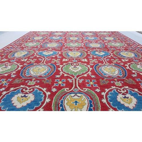 Handgeknüpft wolle kazak teppich  293x203 cm Orientalisch  teppich