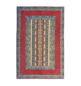 ZARGAR RUGS Hand knotted  9'6x6'6 wool kazak area rug  294x204 cm  Oriental carpet
