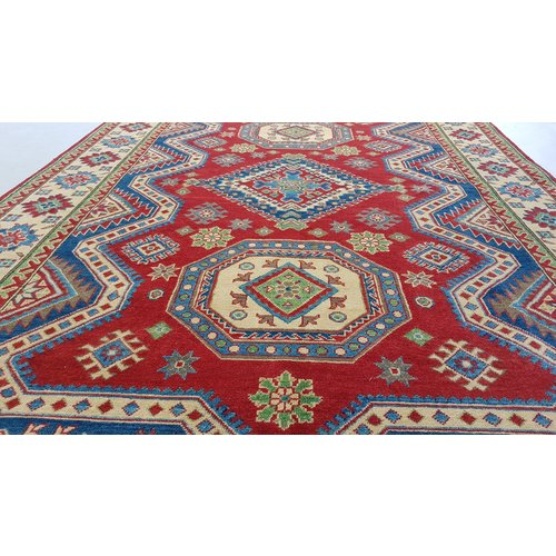 Handgeknüpft wolle kazak teppich  273x183 cm Orientalisch  teppich