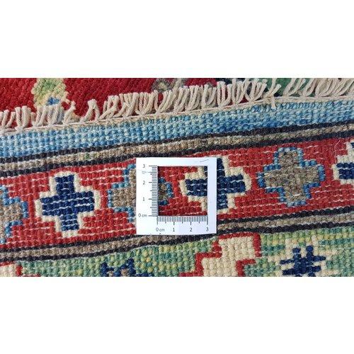 Handgeknoopt kazak tapijt 295x202 cm  oosters kleed vloerkleed