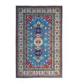 ZARGAR RUGS Hand knotted  9'6x 6'6 wool kazak area rug  295x202 cm   Oriental carpet